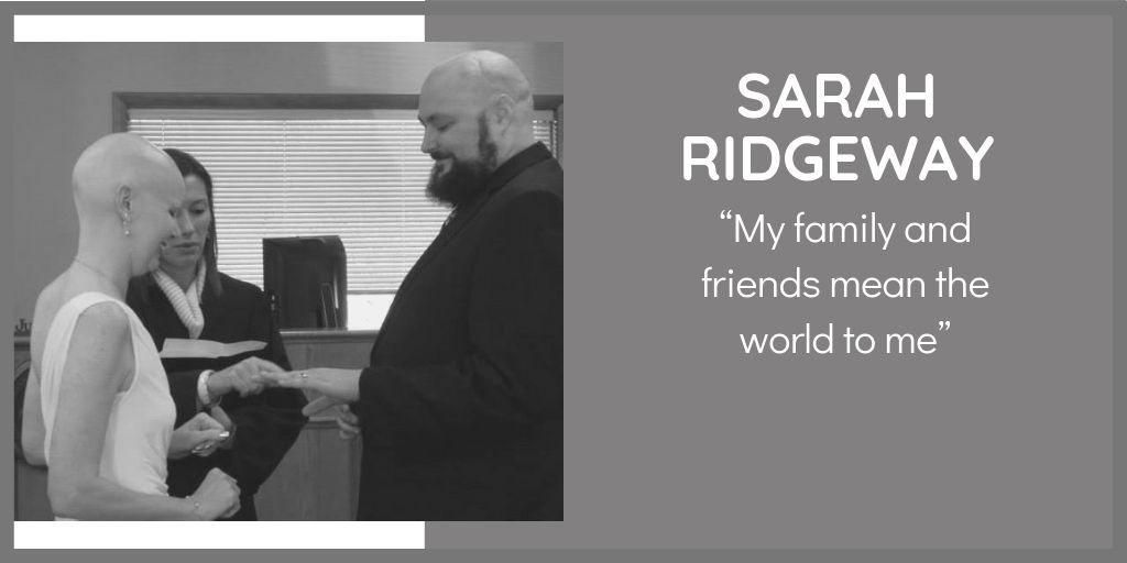 Sarah Ridgeway from Pennsylvania was diagnosed with a cancerous brain tumour called a Brainstem Glioma.