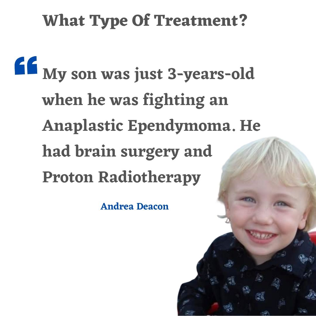 Fletcher was just 3-years-old when he was fighting an Anaplastic Ependymoma