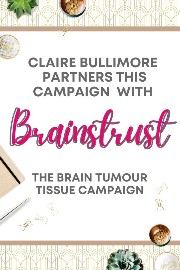 Claire Bullimore – brain tumour patient advocate, broadcaster, speaker and founder of Aunty M brain tumours - The Brain Tumour Tissue Campaign