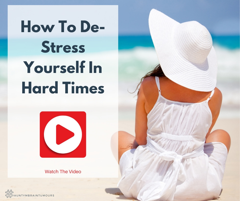 How to de-stress yourself in hard times