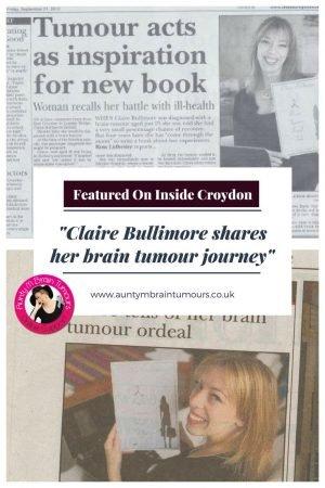 Claire Bullimore in Press - Croydon Advertiser