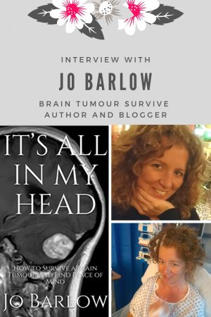 Brain Tumour Story about Jo Barlow