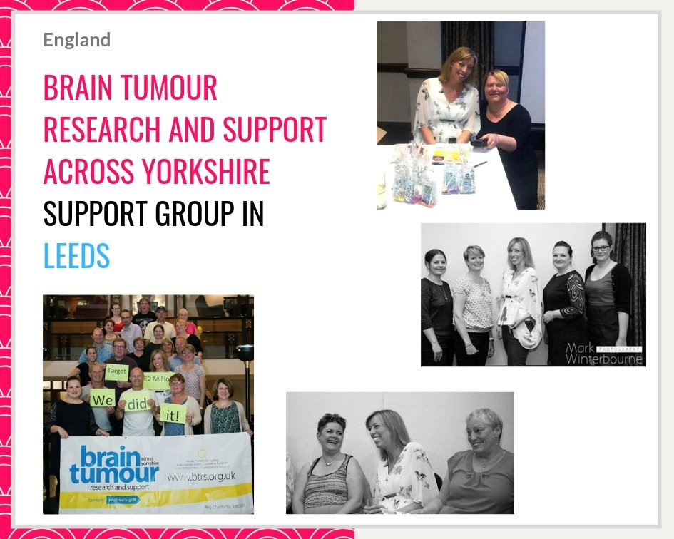 Claire Bullimore and Aunty M Brain Tumours meets BTRS in Leeds (Brain Tumour Research and Support across Yorkshire