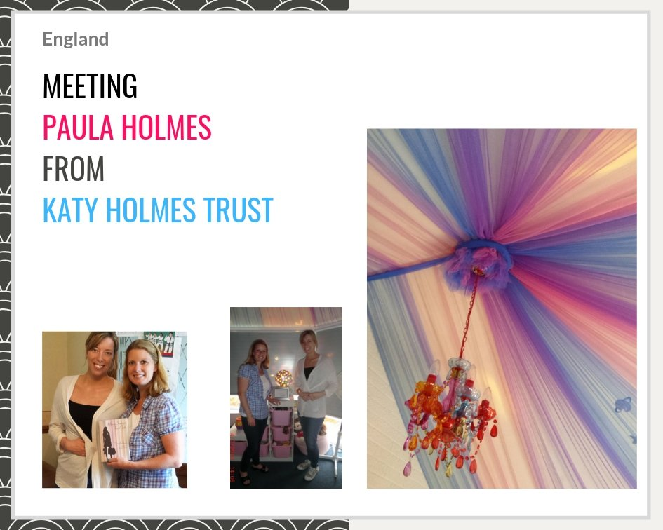 Claire Bullimore and Aunty M Brain Tumours meet The Katy Holmes Trust