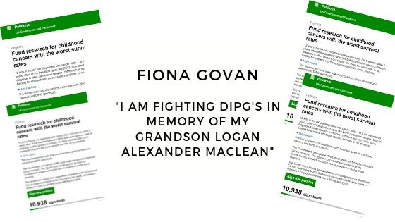 Fiona is Fighting Diffuse Intrinsic Pontine Gliomas