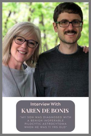 Karen De Bonis Benign Inoperable Pilocytic Astrocytoma