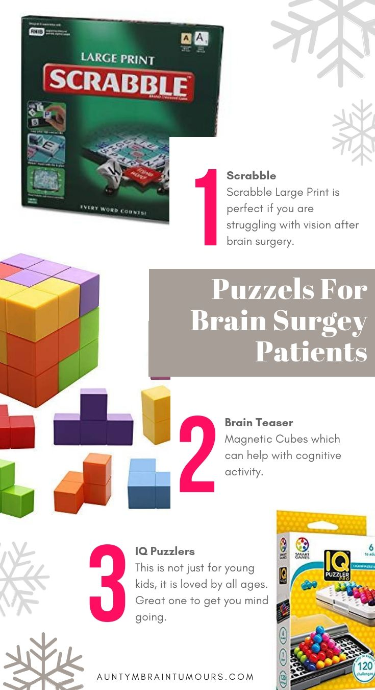 Puzzles For Brain Tumour Patients