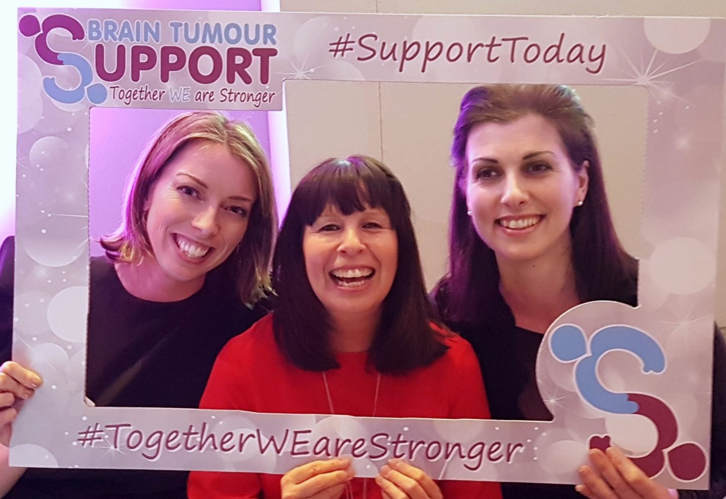 Brain Tumour Support meets Claire Bullimore
