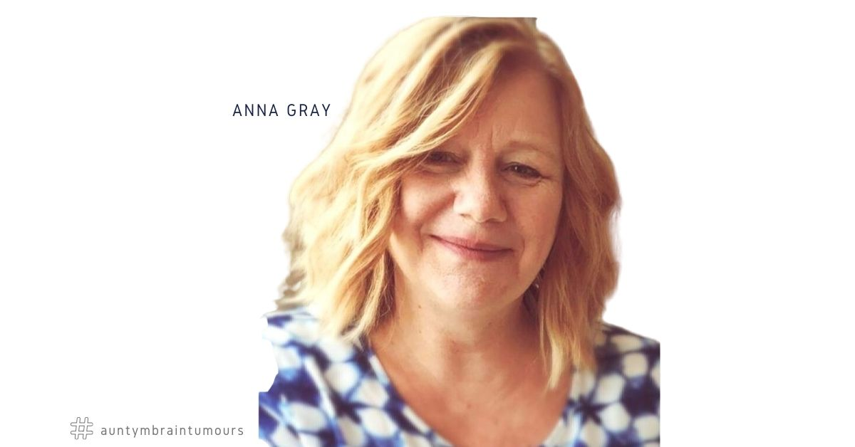 Anna Gray shares her brain tumour story