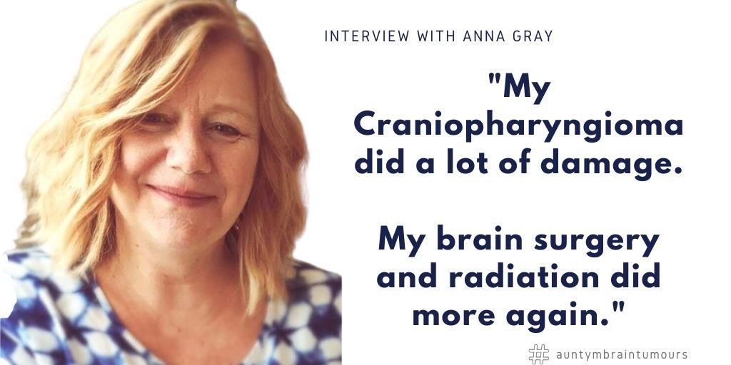 Anna Gray shares her Craniopharyngioma story