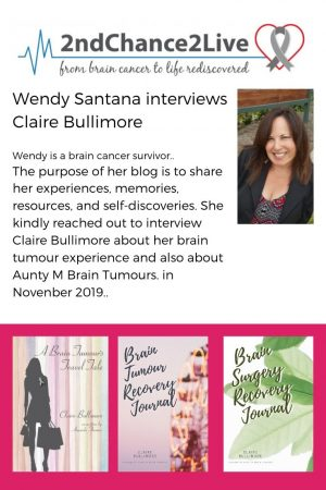 Wendy Santana interviews Claire Bullimore
