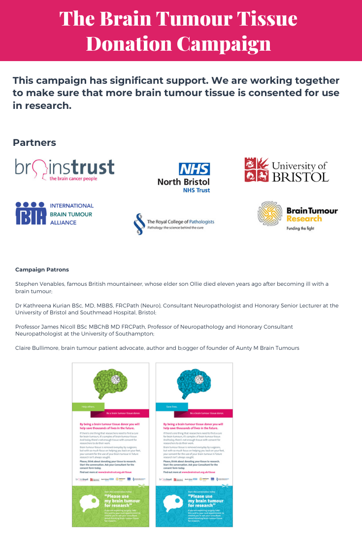 The Brain Tumour Tissue Donation Campaign