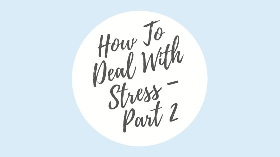 Nigel Lowson Talks About How To Deal With Stress – Part 2