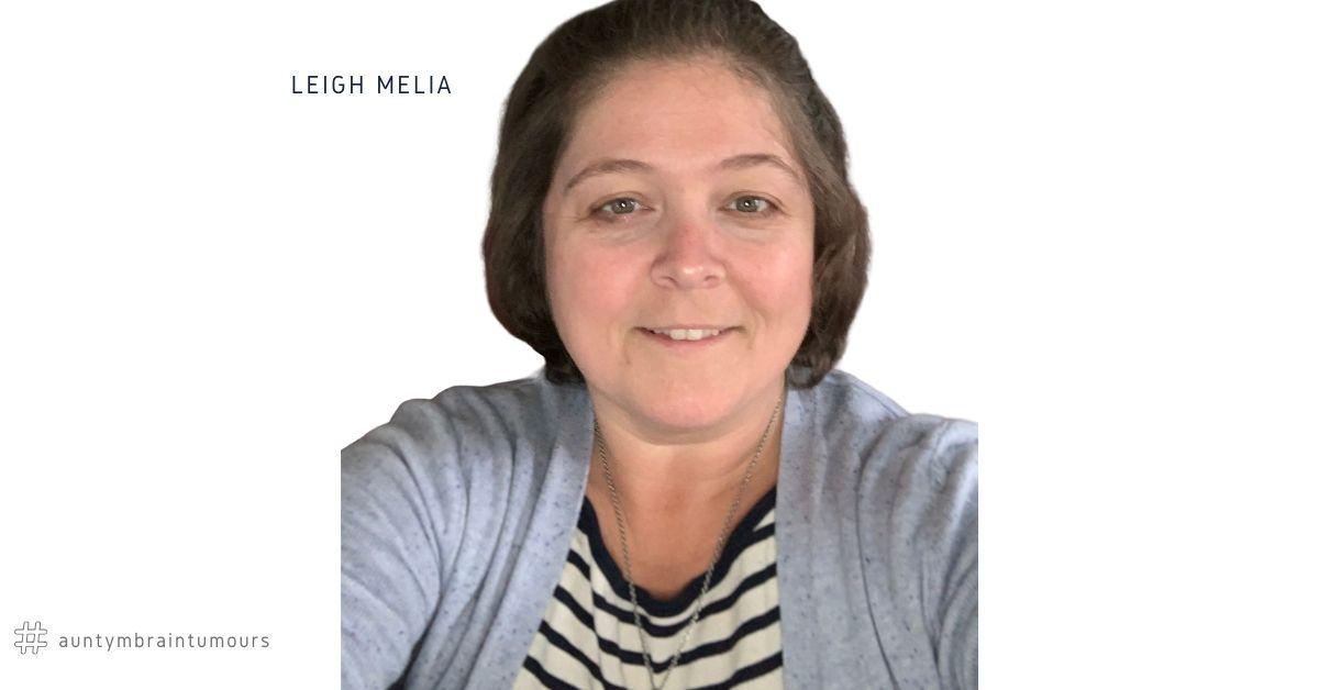 Leigh Melia Left shares her left Parasagittal Meningioma story