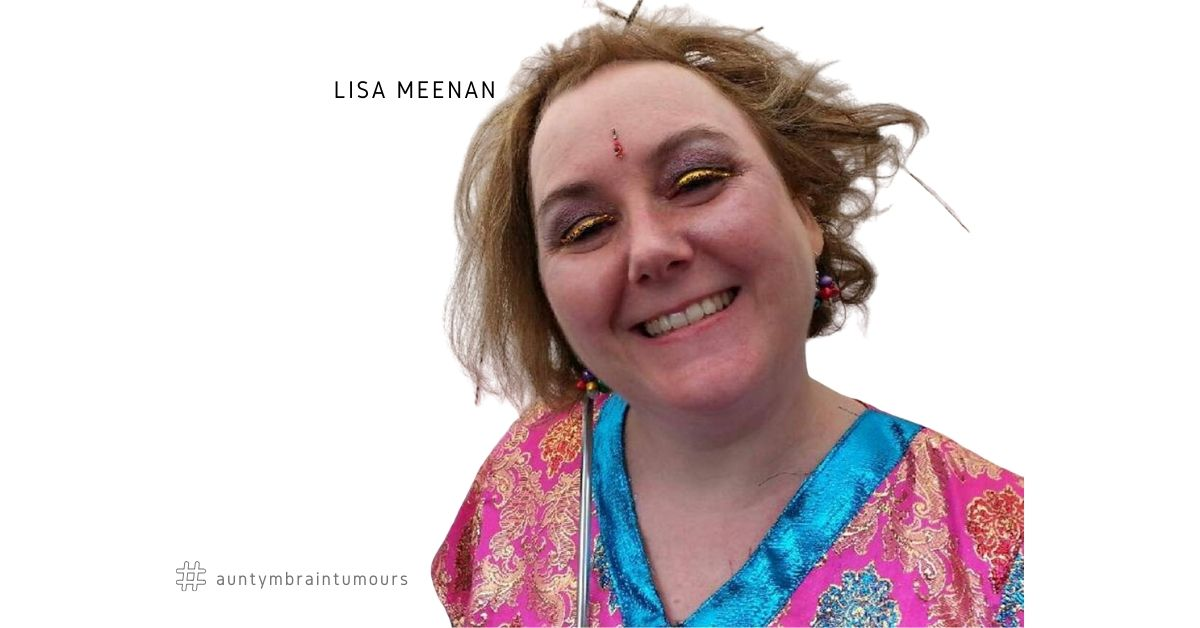 Lisa Meenan, 48, from London, was 21 when I was diagnosed with a low-grade Astrocytoma, a type of brain tumour. The shock news came just months before losing her seven-year-old cousin to brain cancer