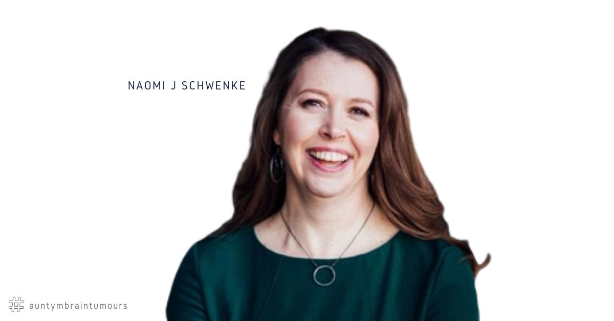 Naomi J. Schwenke, Marriage & Family Therapist from Minnesota, USA was diagnosed with a Carotid Plexus Schwannoma in May 2019. Her brain tumour has been only partially removed with brain surgery. Now Naomi shares the techniques she has used to get through such an emotional and uncertain time.