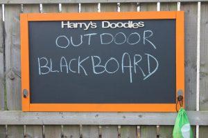 Hanging Outdoor Blackboard-Children's Blackboard-Blackboard-Chalkboard Outdoor blackboard kids