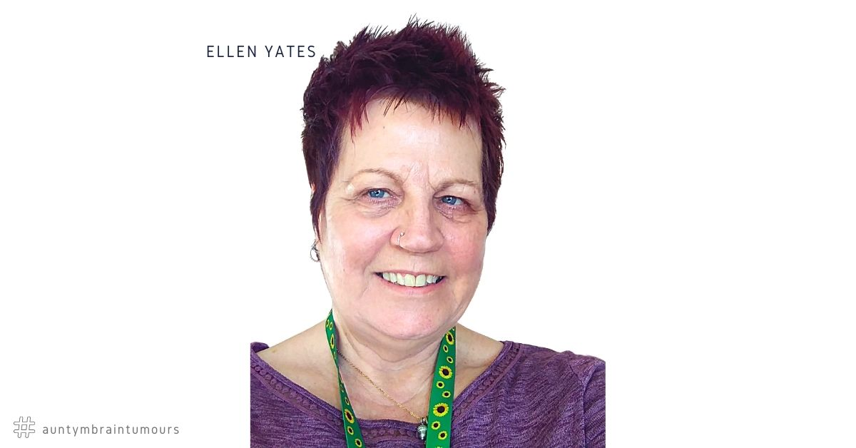 photo of Ellen Yates who is a living with a brain tumour