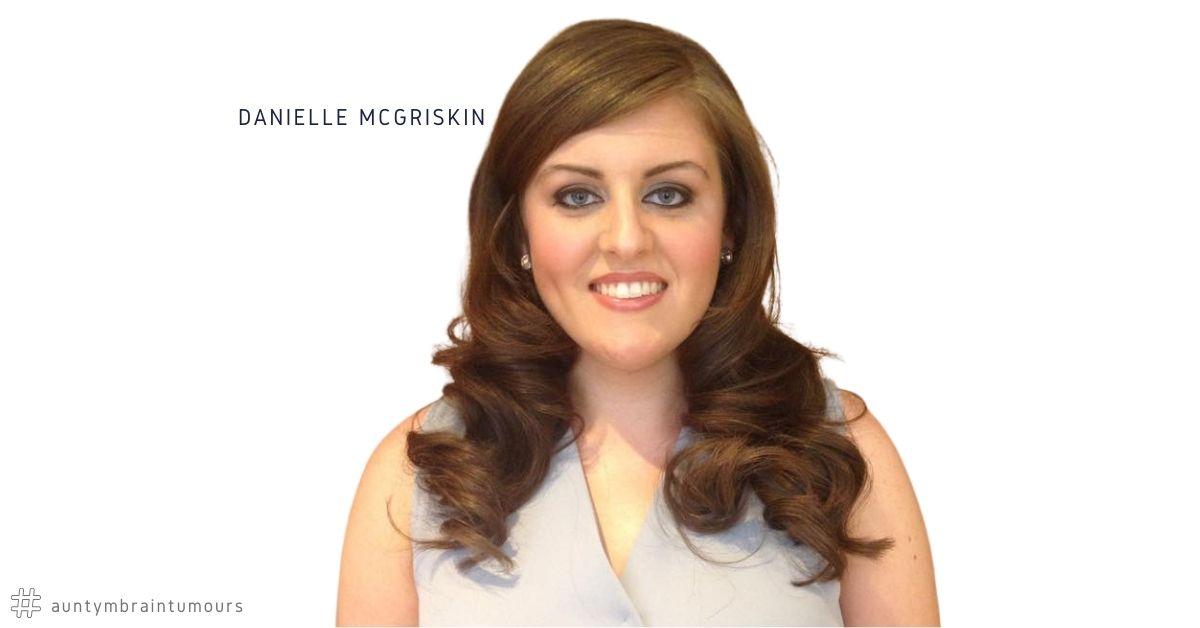 Danielle McGriskin shares her brain tumour story