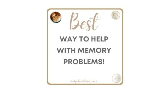 Here is a Great Way to Help with Memory Problems!