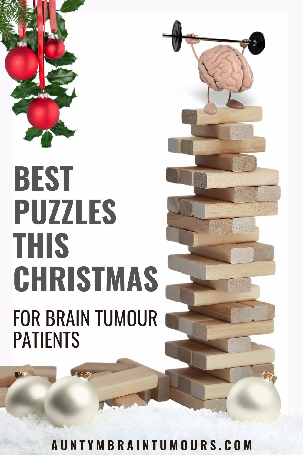 Puzzles Brain Teasers for Brain Tumour Patients This Christmas