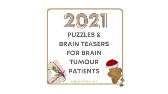 Puzzles For Brain Tumour Patients